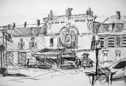 Town square Sainte Methoulde