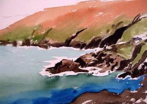 The Bay at Gurnard Head, north Cornwall
