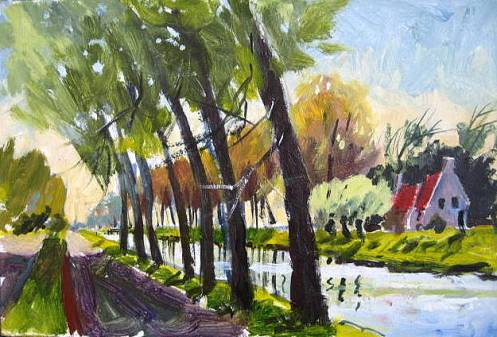 """Bruges from Damme 6x8"""""""
